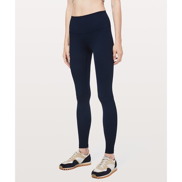 lululemon athletica Pants - Lululemon Wunder Under HighRise Tight 28 True Navy